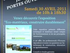 photo de Portes ouvertes sur l'Eco-construction