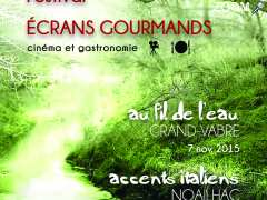 photo de Festival de cinéma Ecrans gourmands