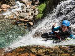 photo de Canyoning avec le Bureau des Guides